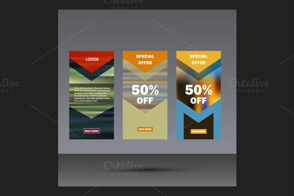 Flyer Modern Design Template Vol.2