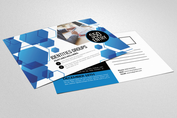 Creative Business Post Cards