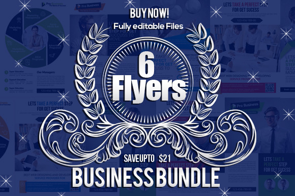 6 Creative Business Flyers Bundle