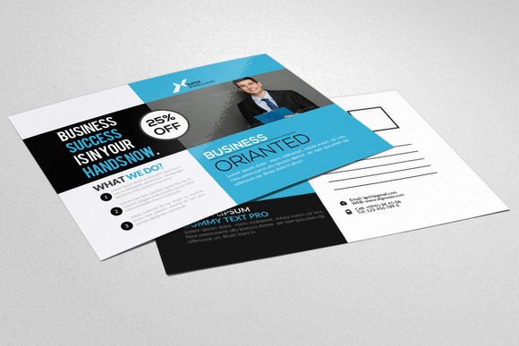 Business Trainer Coach Postcard