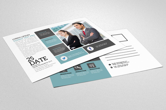 Multi Purpose Use Business Postcard