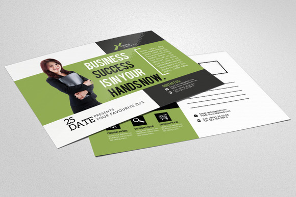 Business Agency Postcard