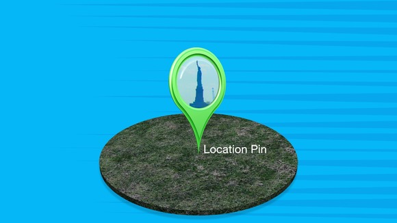 Location Pin Title For FCPX