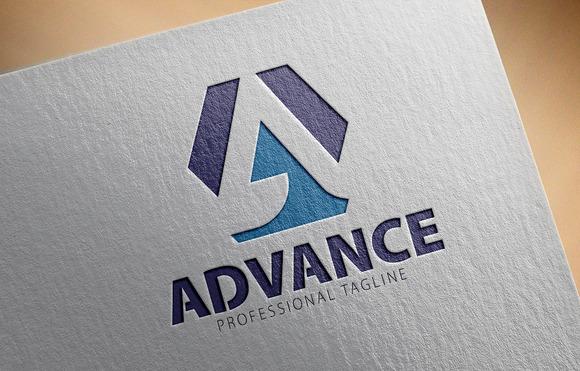 A Letter Logo Advance