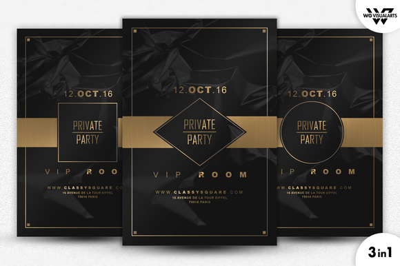 PRIVATE VIP Flyer Template