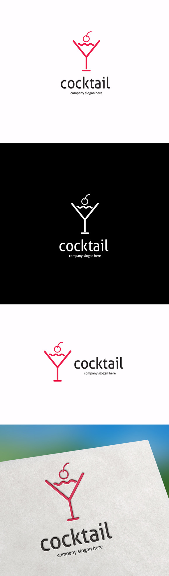 Cocktail Logo