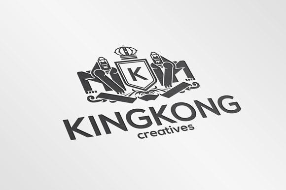 King Kong Crest Logo