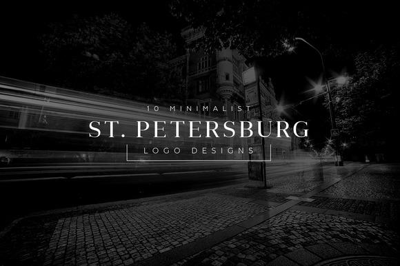 10 Minimalist Logo St Petersburg