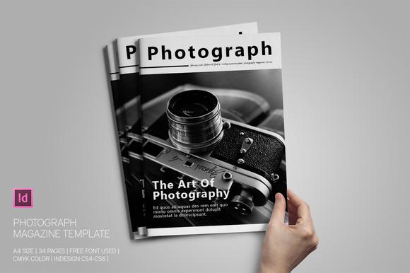 Photograph Magazine Template