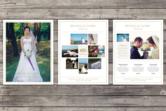 Wedding Photography Pricelist Flyer