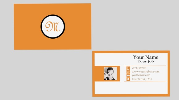 Stripcard Business Card Template