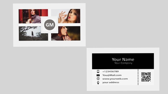 Squar Business Card Template