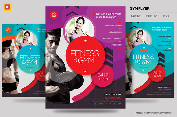 Fitness Flyer Gym Flyer V13