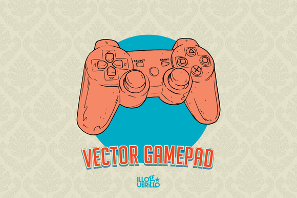 Vector PS Gamepad