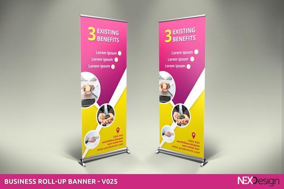 Business Roll-Up Banner V025