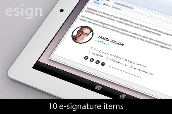 10 EMailing Signatures
