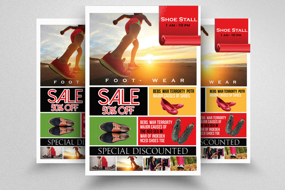 Sale Product Prices Flyer