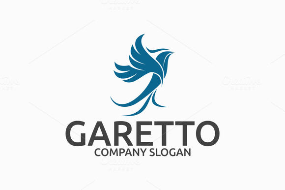 Garetto Bird Logo