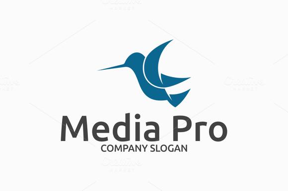 Media Pro Bird Logo