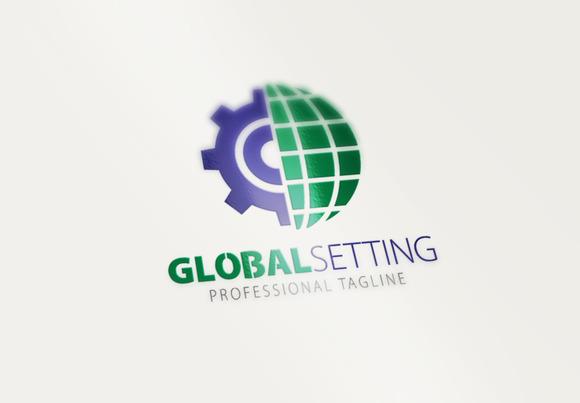 Global Settings Logo