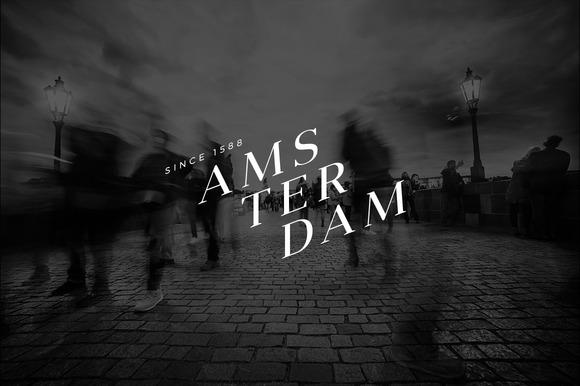 10 Minimalist Logo Amsterdam