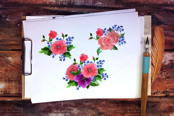 Ўн 92 Flower Vector Illustration