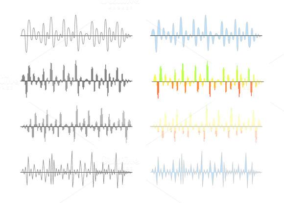 Analog And Digital Signal Waves