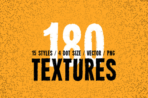 Pure Halftone Textures