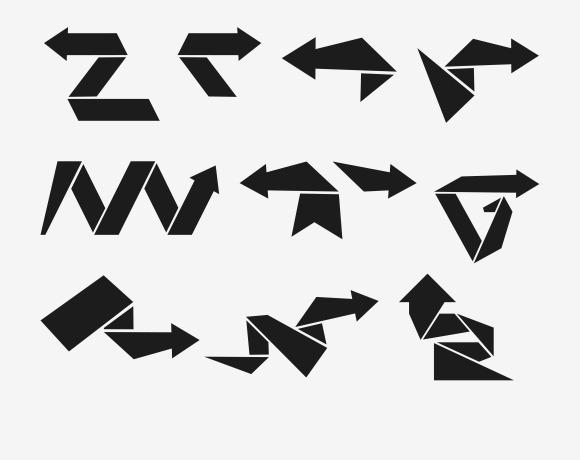 Modern Flat Arrows