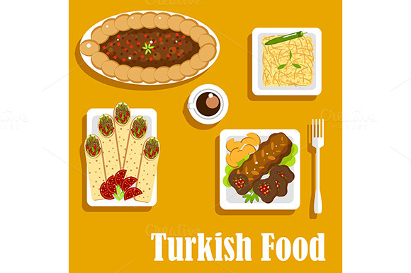 Shawarma advertising flyer design free download for Authentic turkish cuisine