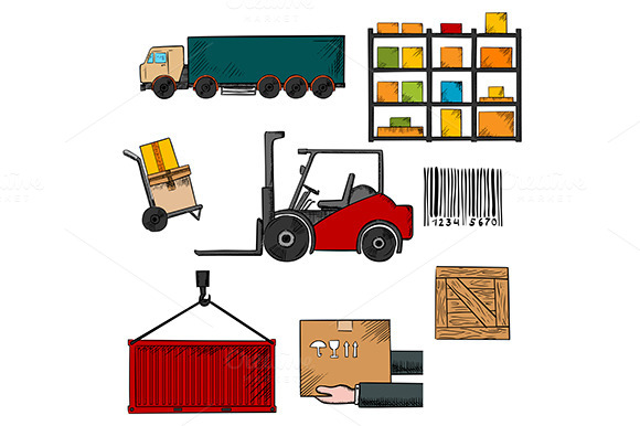 Delivery Shipping And Freight