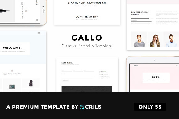Gallo Creative Portfolio Template