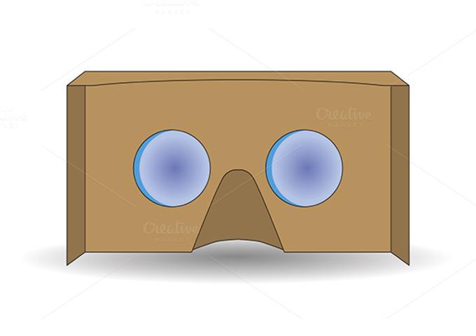 Virtual Reality Cardboard Glasses
