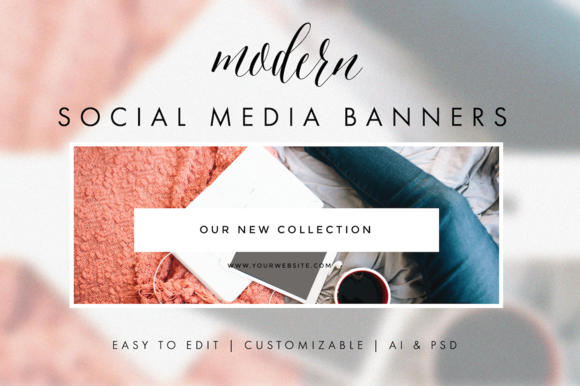 Social Media Banners Modern