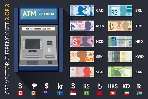 World Currencies Set 2 Of 2