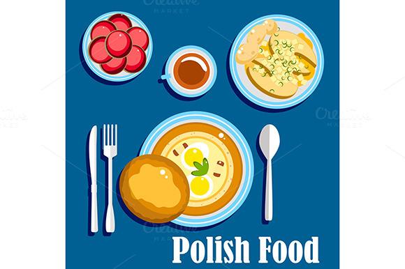 Traditional polish fabric designtube creative design for Authentic polish cuisine