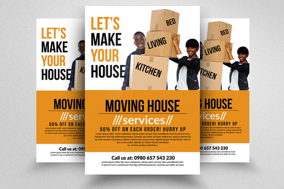 moving company flyer