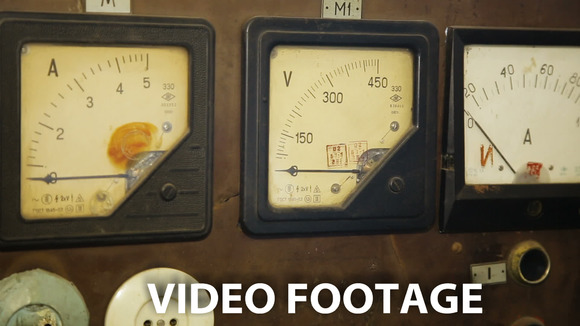 Old Gauges Isolated