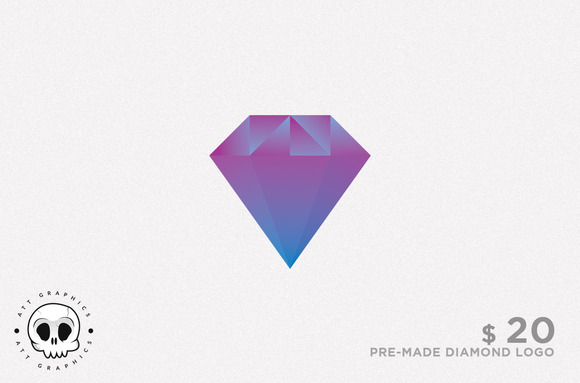 diamond shape logo 187 designtube creative design content