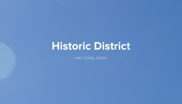 Historic District Title For FCPX