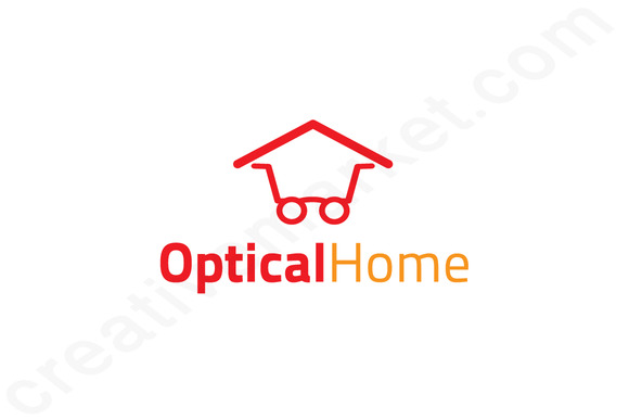 Optical Logo Products  Creative Market