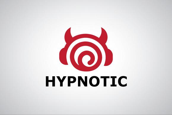 Hypno Earphone Music Logo Template