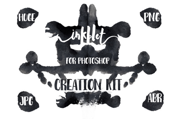 Inkblot Art Kit