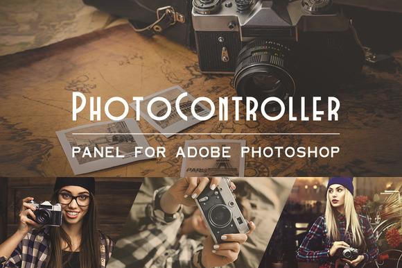 Photo Controller Photoshop Panel