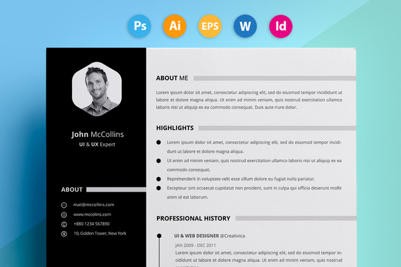 Resume CV John