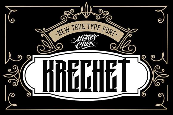 Krechet Font