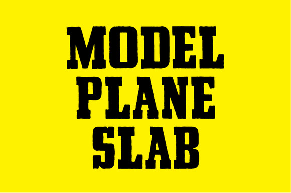 MODEL PLANE SLAB
