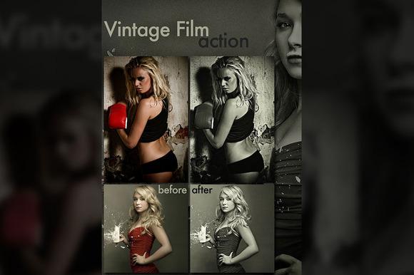 Vintage Film Look Action