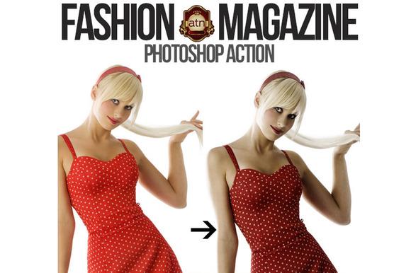 Magazine Style Action