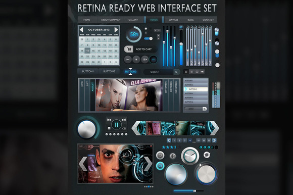 Retina Interface Set Design